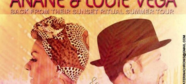 "SEPTEMBER 9 ""SUNSET RITUAL"" WITH ANANÉ & LOUIE VEGA at"