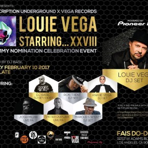 FEBRUARY 10 ANANÉ VEGA at Fais Do-Do (Los Angeles, CA), Louie Vega's Grammy Nomination Celebration Event..