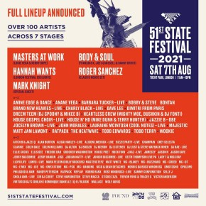 August 7TH Anané at 51st State Festival (London)
