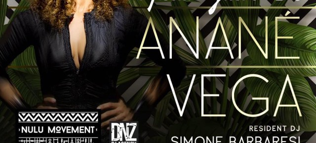 APRIL 22 ANANÉ VEGA at VINILES, (an Benedetto del Tronto,ITA)