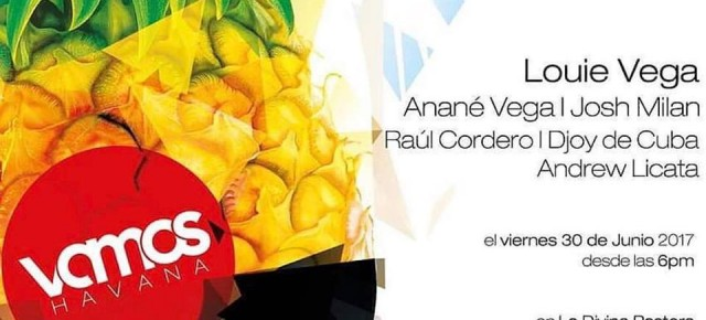 JUNE 30 ANANÉ at VAMOS HAVANA (Cuba)