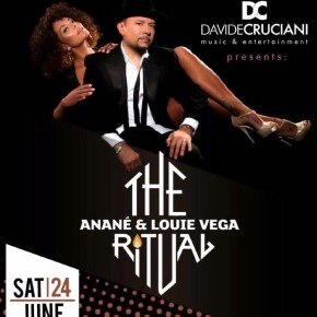JUNE 24 THE RITUAL WITH ANANÉ & LOUIE VEGA at YACHTING CLUB (Taranto,ITA)