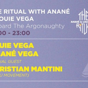 JULY 21 THE RITUAL WITH ANANÉ & LOUIE VEGA at SUNCÉBEAT (Croatia)