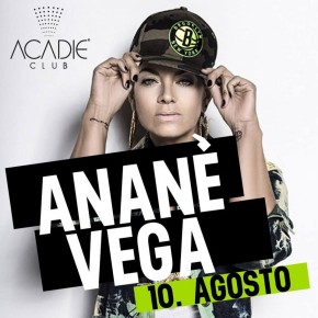 AUGUST 10 ANANÉ at ACADIE CLUB (Scalea, Italy)