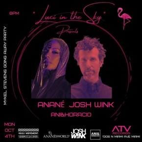 October 4TH Anané at ATV Records (Miami)
