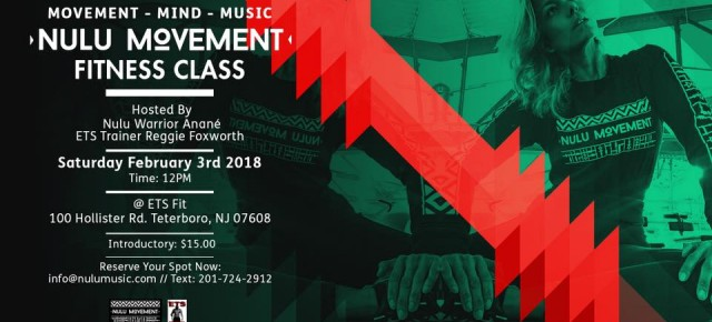 FEBRUARY 3 ANANÉ Presents NULU MOVEMENT Fitness Class (NYC)