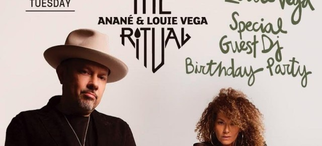 JULY 31 THE RITUAL with ANANÉ & LOUIE VEGA at HEART (Ibiza)