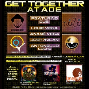 'Get Together' with Vega Records, Nulu Music, Elements of Life and Honeycomb Music at ADE 2012