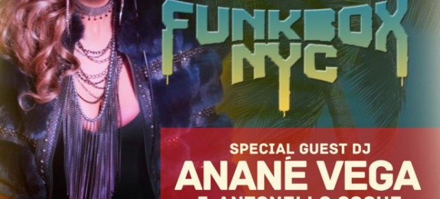 FUNKBOX NYC @ SULLIVAN ROOM Sunday May 26th Memorial Day Weekend