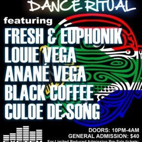 MZANSI NYC meets DANCE RITUAL Friday, March 15th 2013