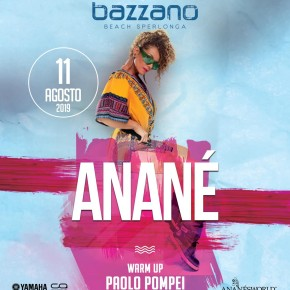 August 11 Anané at Bazzano Beach (Sperlonga, ITA)
