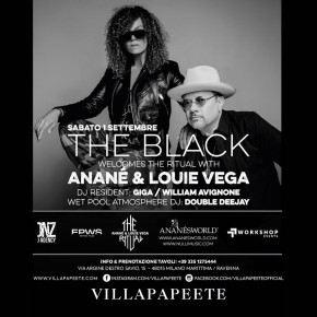 SEPT 1 THE RITUAL with ANANÉ & LOUIE VEGA at VILLA PAPEETE (Milano Marittima, ITA)