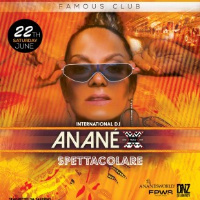 "June 22 Anané at Africana Famous Club (Praiano, SA) ""10 Years Of Nulu Music"""