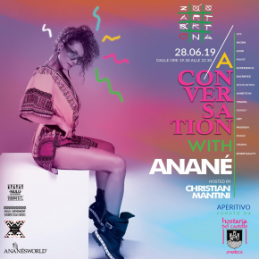 "June 28 ""A Conversation with Anané"" at ZooArt (Ortona, ITA)"