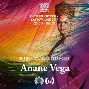 JUNE 10 ANANÉ at MINISTRY OF SOUND (London,UK)
