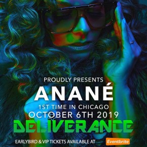 Oct 6 Anané at Renaissance (Bronzeville, Chicago)