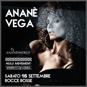 SEPTEMBER 16 ANANÉ at ROCCE ROSSE (Salerno, Italy)