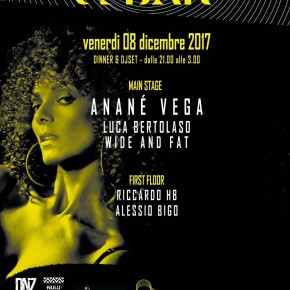 DECEMBER 8 ANANÉ at USBAR (Vigarano Mainarda, Ferrara, Italy)