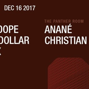DECEMBER 16 ANANÉ'S NULU MOVEMENT at THE PANTHER ROOM, OUTPUT (Brooklyn, NYC)