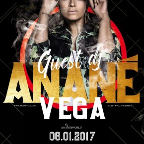 JANUARY 6 ANANÉ VEGA at Circle Club (Mialno, ITA)