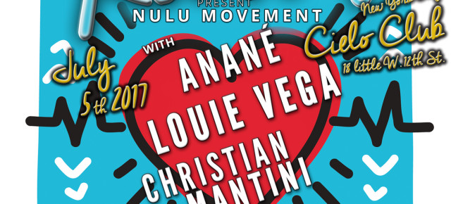 "WED JULY 5 ROOTSNYC PRESENTS ANANÉ'S NULU MOVEMENT - RELASE PARTY OF ""BATTITO PROFONDO"""