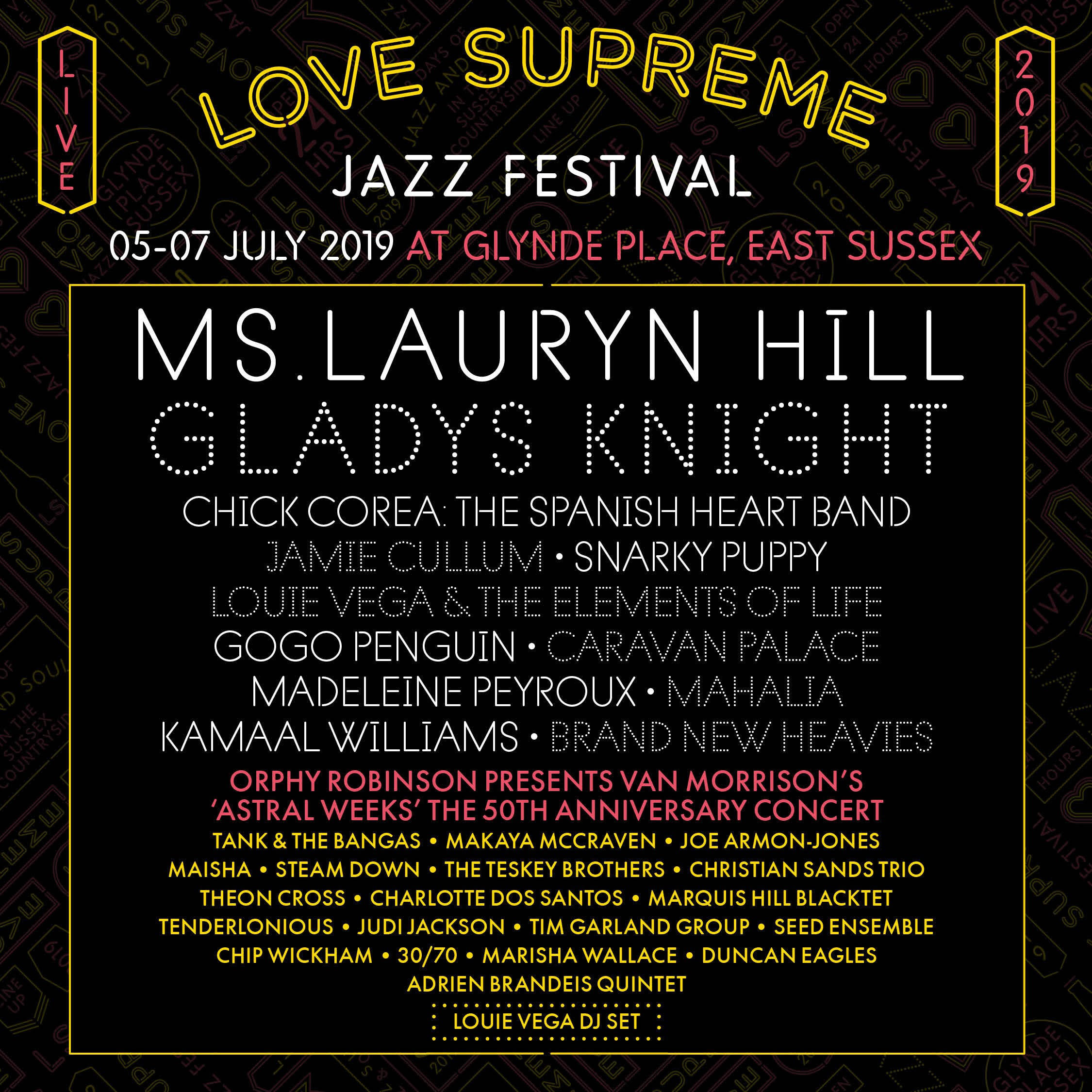 JULY 6, 2019 LOVE SUPREME FESTIVAL EOL (IG)