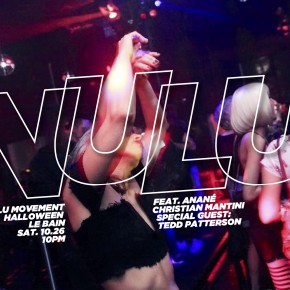 Oct 26 Anané's Nulu Movement at Le Bain (New York)