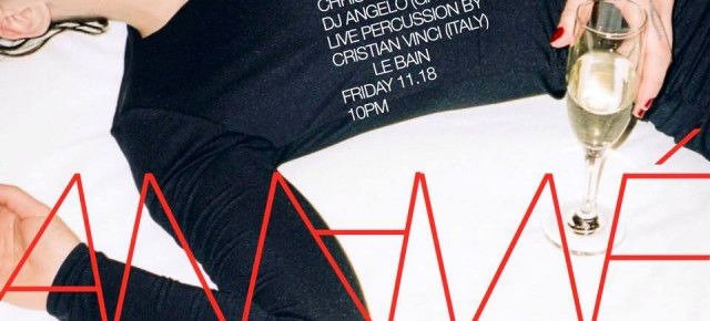 NOVEMBER 18 ANANÉ VEGA presents NULU MOVEMENT at LE BAIN (NYC)