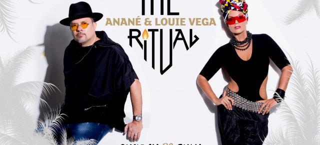 JULY 29 THE RITUAL WITH ANANÉ & LOUIE VEGA at PENELOPE A MARE (Pescara, Italy)