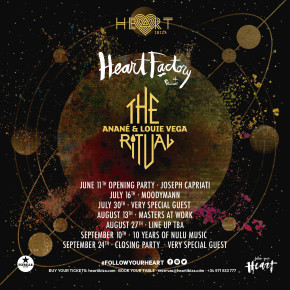The Ritual with Anané & Louie Vega Summer Residency at Heart Ibiza