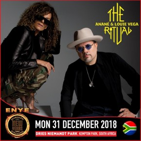 Dec 31 The Ritual with Anané & Louie Vega at Dries Niemandt Park (Johannesburg, South Africa)