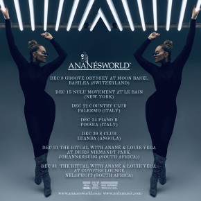 Anané Tour Date December 2018