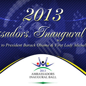 2013 Ambassadors Inaugural Ball - Monday, January 21, 2013, Washington DC