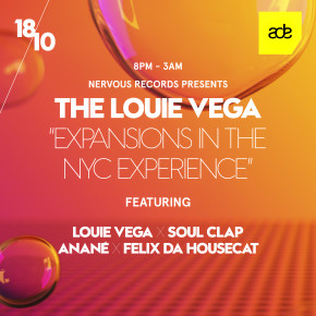 Oct 18 Anané at Expansion presented by Nervous Records at W Hotel (ADE, Amsterdam)