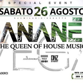 AUGUST 26 ANANÉ at BAJA VILLAGE (Vasto, Italy)