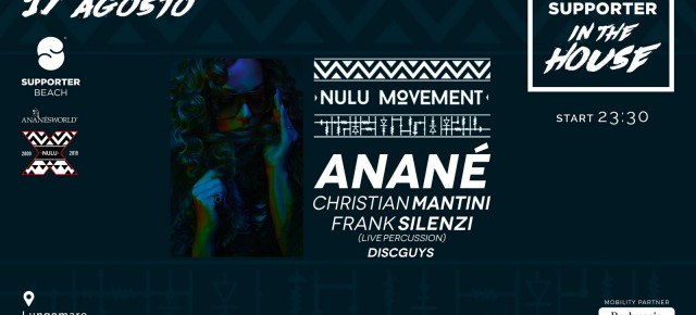 Aug 17 Anané's Nulu Movement at Supporter Beach (Fossacesia, ITA)