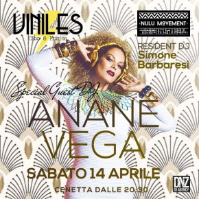 APRIL 14 ANANÉ AT VINILES (San Benedetto del Tronto, Italy)