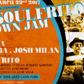 MARCH 22 ANANÉ VEGA at EOL SOULFRITO - GET DOWN JAM (Miami,FL)