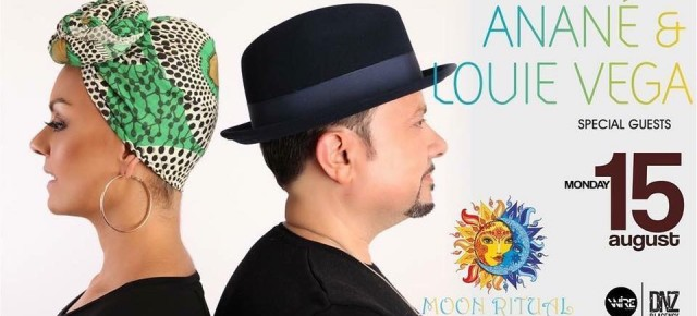 AUGUST 15 MOON RITUAL WITH ANANÉ & LOUIE VEGA at AFRICANA (Amalfi)