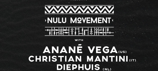 October 14 ANANÉ'S NULU MOVEMENT at Golden Gate (Napoli, Italy)