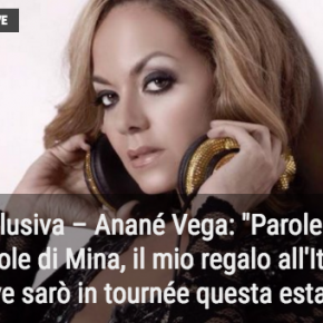 Anané Vega exclusive interview - Notizie Musica (Ita)