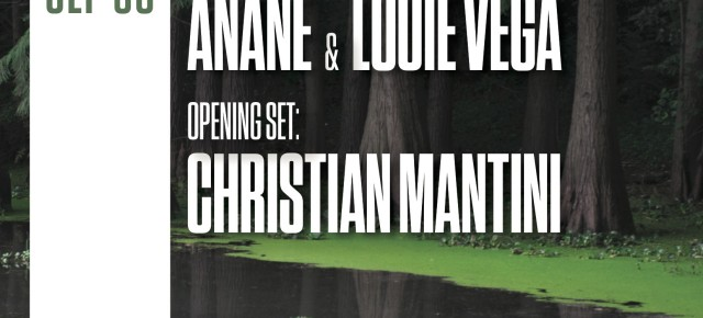 SEPTEMBER 30 THE RITUAL WITH ANANÉ & LOUIE VEGA at OUTPUT (Brooklyn, NY)