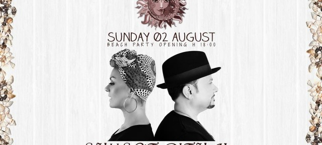 "August 2, ANANÉ & LOUIE VEGA ""SUNSET RITUAL"" at PENELOPE A MARE PESCARA (ITA)"