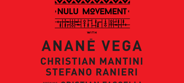 February 24 ANANÉ'S NULU MOVEMENT at Golden Gate (Napoli, Italy)