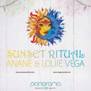 "SEPTEMBER 4 ""SUNSET RITUAL"" WITH ANANÉ & LOUIE VEGA at PANORAMA BEACH (Napoli)"
