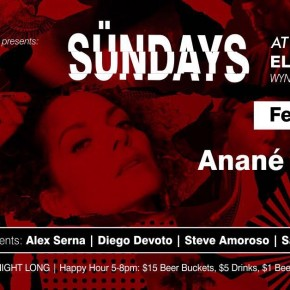FEBRUARY 4 ANANÉ at EL CALLEJÓN (Miami)