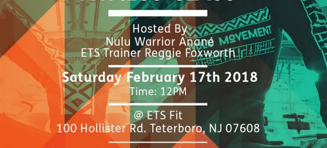 February 17 ANANÉ Presents NULU MOVEMENT Fitness Class (NYC)