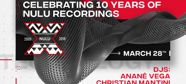 March 28 Anané Celebrates 10 Years Of Nulu Music at WMC Closing Event at Tree Of Life (Miami)